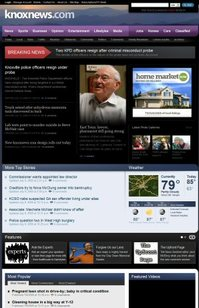 Knoxnews Redesign
